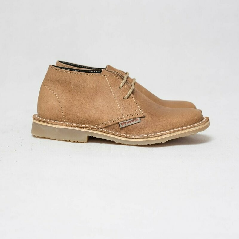 Veldskoen Full-grain Aviator Camel