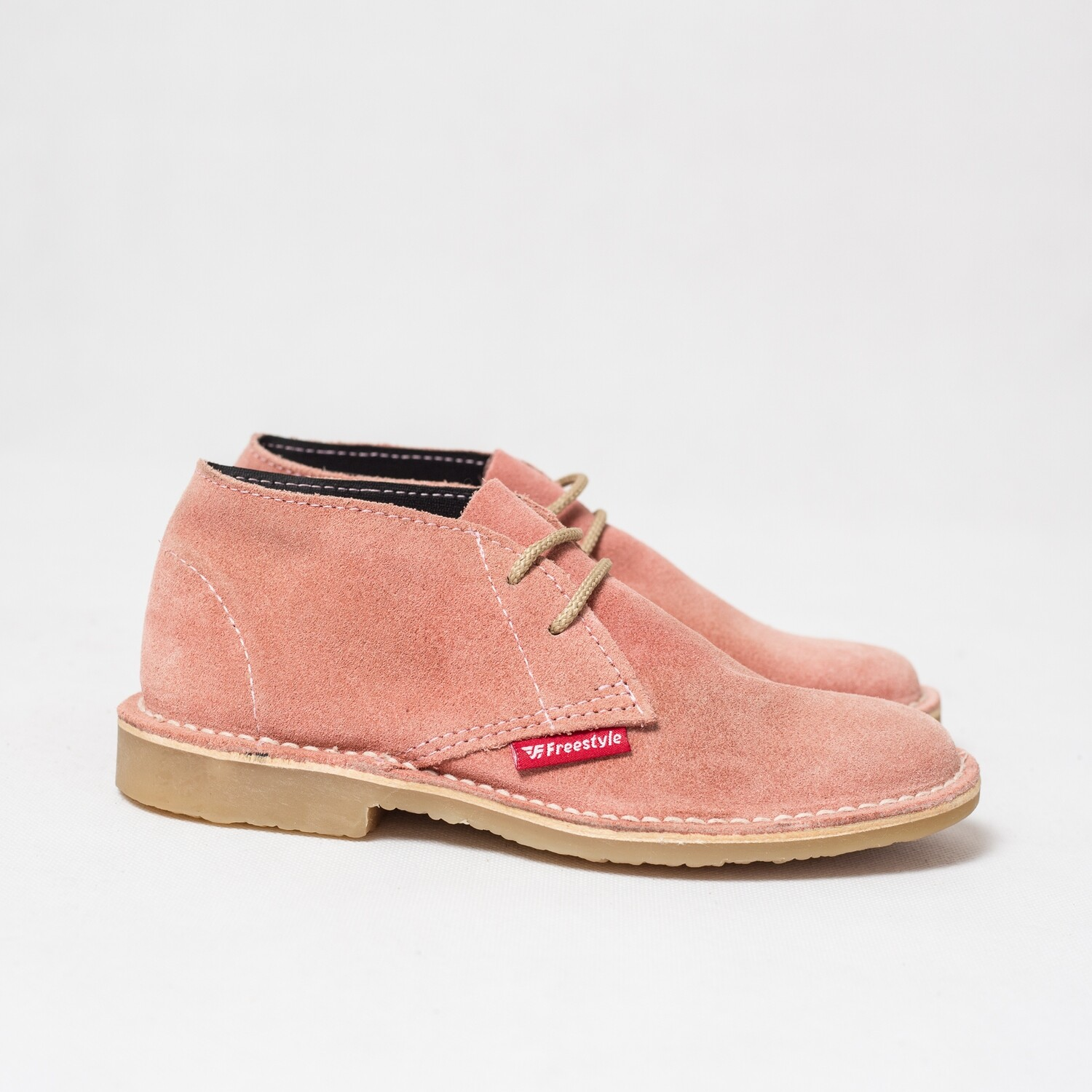 Veldskoen Suede Light Pink