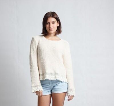 Lace Top Cream