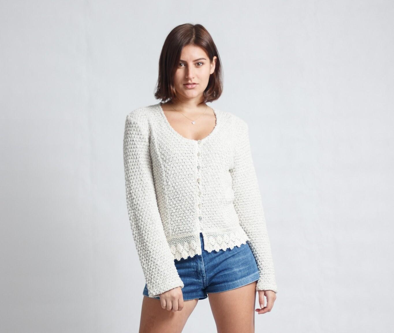 Jacket Lace Pine-Knit Brindle