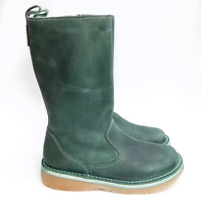 Eskimo Turquoise wool-lined ladies leather boot