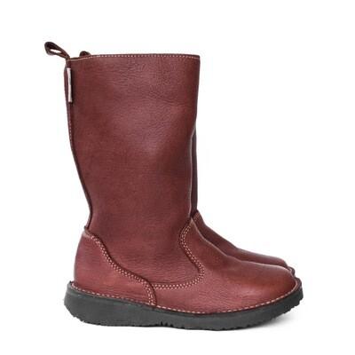 Eskimo Kudu Paprika wool-lined ladies leather boot