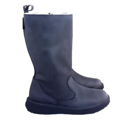 Eskimo Denim wool-lined ladies leather boot