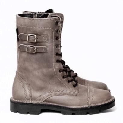 Combat Boot Grey