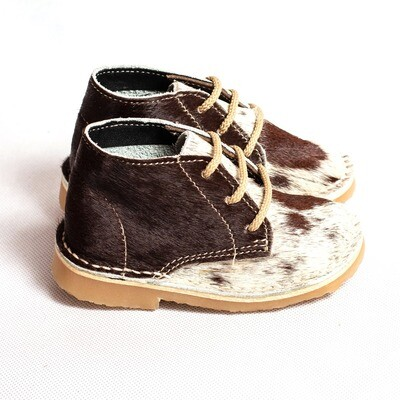 Kiddies Veldskoen Nguni Hair-on Brown