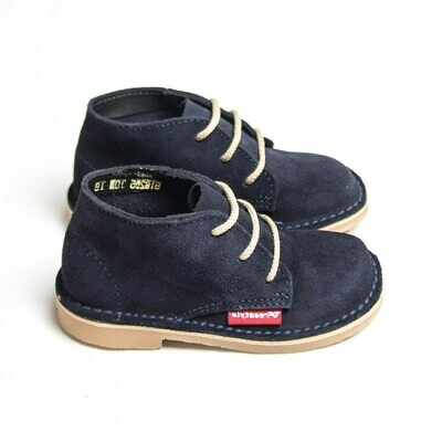 Kiddies Veldskoen Suede Navy