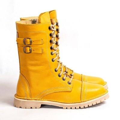 Combat Boot Yellow
