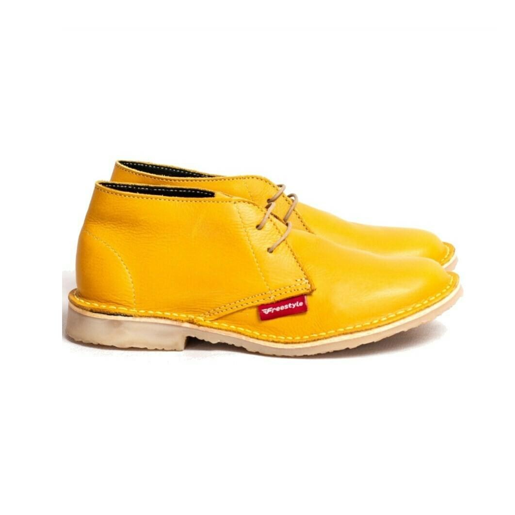 Veldskoen Full-grain Yellow