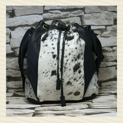 Handbag Madrid Nguni Black