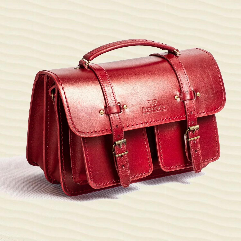 Handbag Saddle Red
