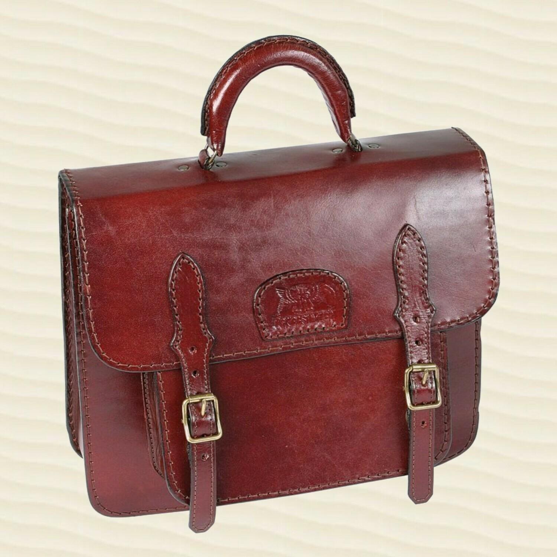 Handbag Secretary Mid-Brown