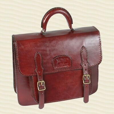 Handbag Secretary Mid-Brown