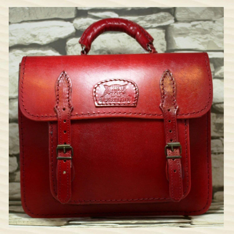 Handbag Secretary Red