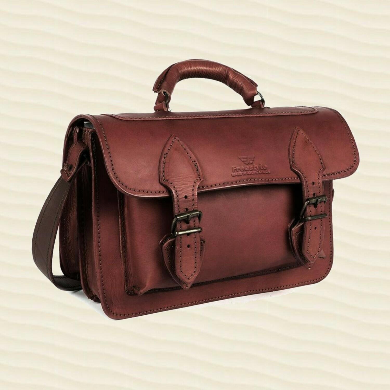Handbag Patricia Mid-Brown
