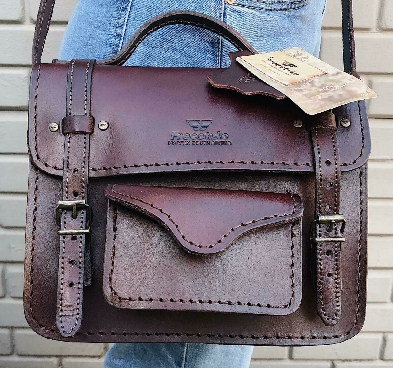 Handbag Mid-Brown