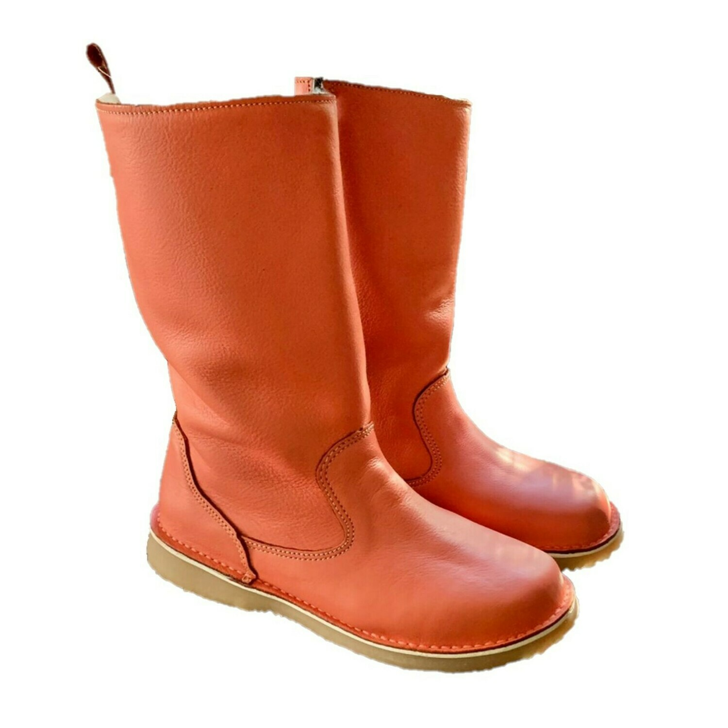 Eskimo Coral wool-lined ladies leather boot