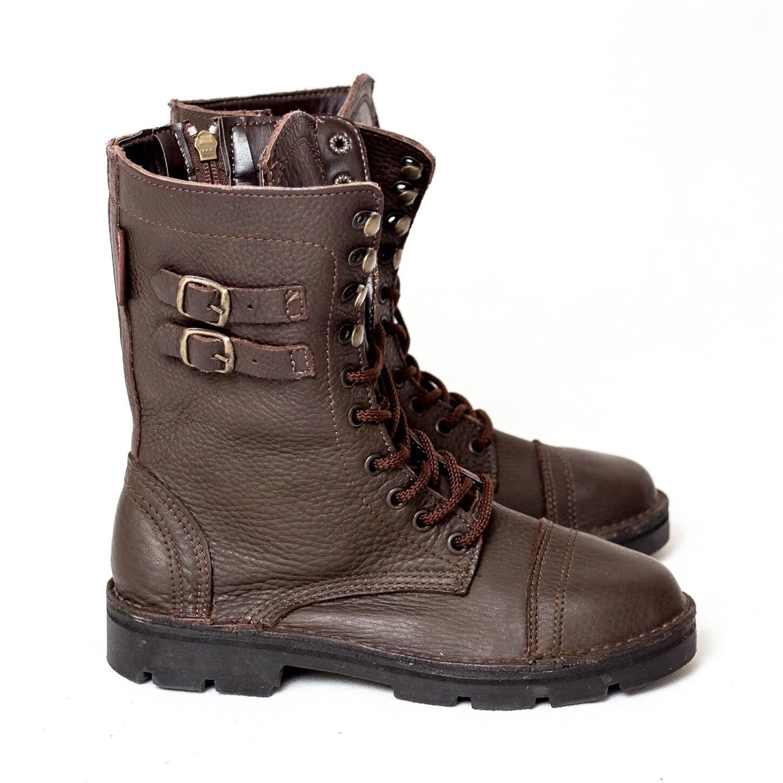 Combat Boot Oxblood