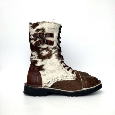 Army Nguni Hair-On Brown/White