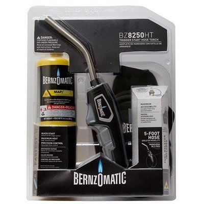 BernzOmatic Trigger Start Adjustable Swirl Flame Torch with Hose