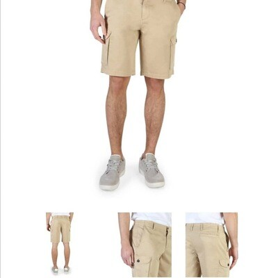 Armani Jeans Short Beige For Men