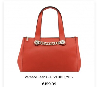 Versace Red Bag Shoulder Women