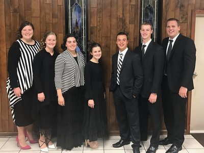 Youth Chorale - Power Filled with the Spirit Thursday 6-8-17