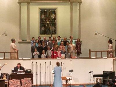 Children's Choir & Congregational Saturday 6-10-17