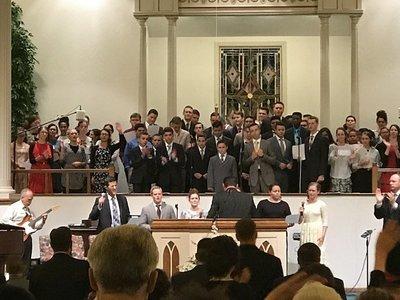 Youth Choir Saturday 6-10-17