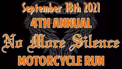 4th Annual No More Silence Motorcycle Run