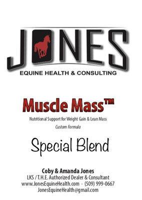 SPECIAL BLEND w/ Muscle Mass