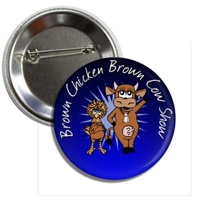 BCBC Button #1, Original Logo