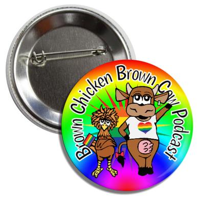 BCBC Button #2, Pride Logo