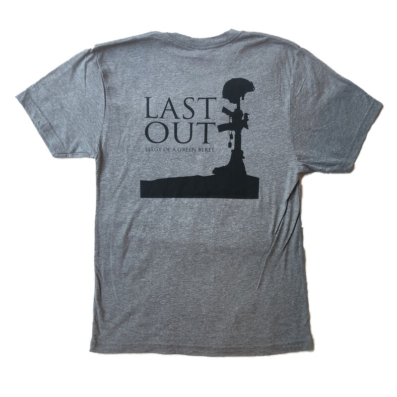 Last Out Unisex T-shirt - Grey