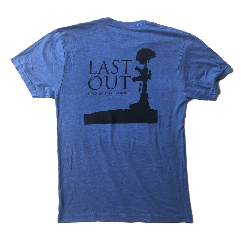 Last Out Unisex T-shirt - Blue