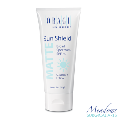 Obagi Nu-Derm Sun Shield Matte Broad Spectrum SPF 50 Sunscreen 3.0 oz