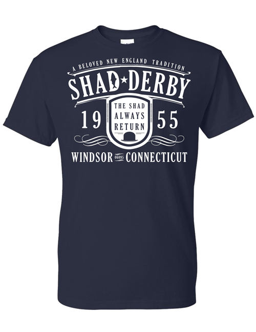 Official Shad Derby T-shirt (Blue)