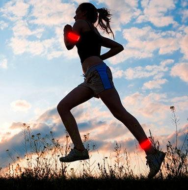 LED banda de luz para correr, pulseras (por mayor)