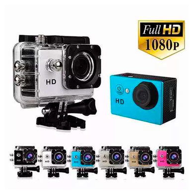 Camara Deportiva Full Hd 1080p Sumergible 20 mt (Por Mayor)
