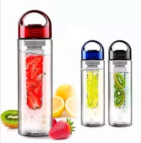 Botella con filtro para saborizar el agua (Por Mayor)