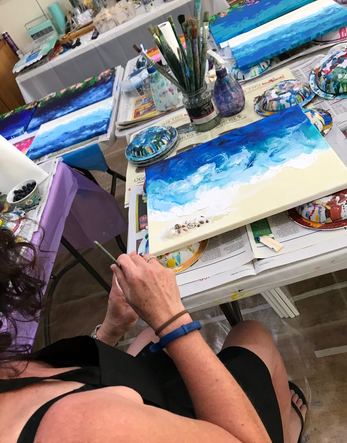 Intro to Pour Painting - Level 1