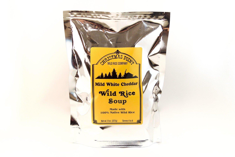 Mild White Cheddar Wild Rice Soup