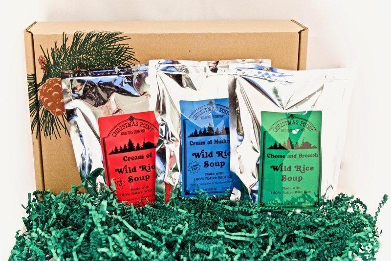 Christmas Point Wild Rice Soup Trio
