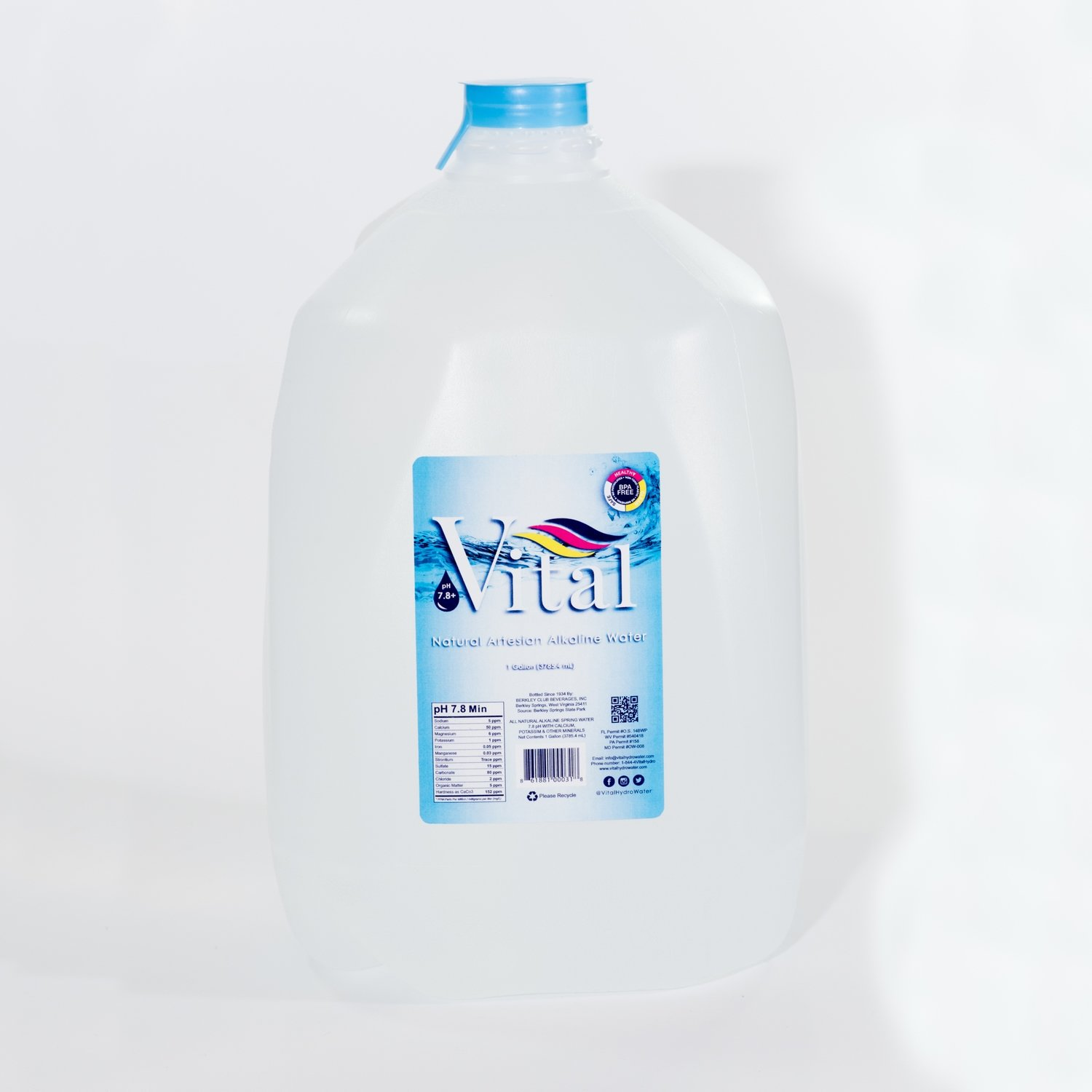 1 Gallons Bottles (6 ct.)
