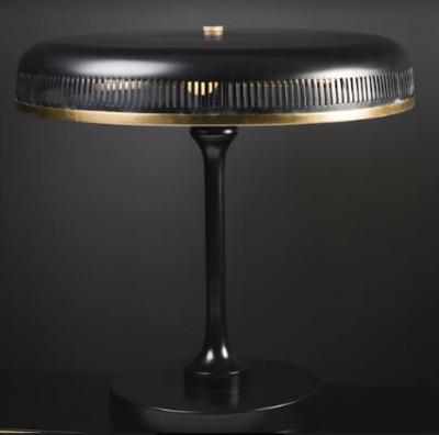 Desk lamp black