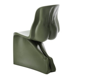 Him chair green Fabio Novembre