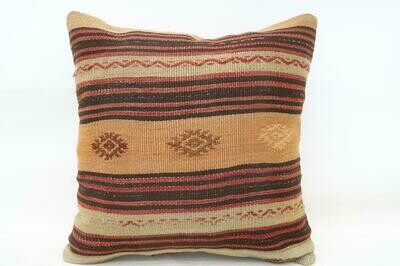 Anatolian kilim pillow cover