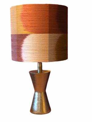 Lamp base brass