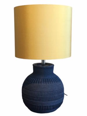 Lamp base black