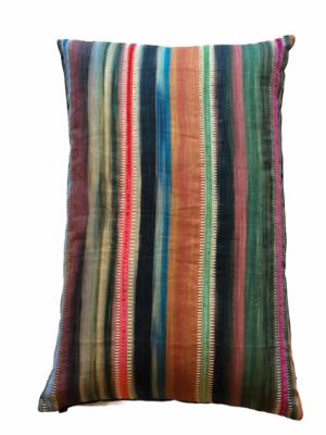 Bohemian stripe pillow