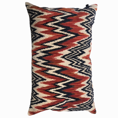 Pillow zig zag red
